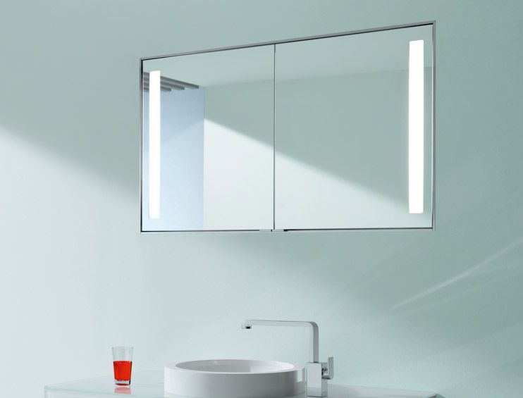 Keuco Royal Integral Mirror Cabinets Bathroom Accessories Ings Furniture