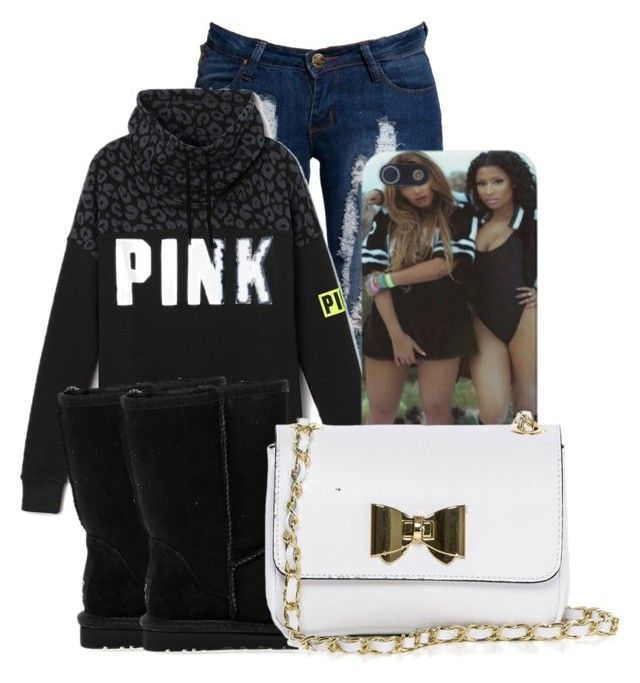 """""""~Big Rings ~Drake"""" by stay-sassy ❤ liked on Polyvore featuring Boohoo, UGG Australia and Pia Sassi"""