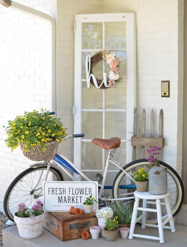 Fascinating Farmhouse Porch Decoration Ideas Mebel Teras Depan Tempat