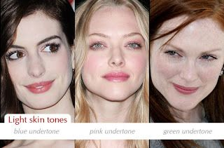 Make Up Charts Determining Your Skin Tone And Undertone Skin Undertones Pale Skin Hair Color Pink Skin Tone