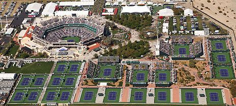 indian wells tennis garden stadium court - Indian Wells Tennis Garden