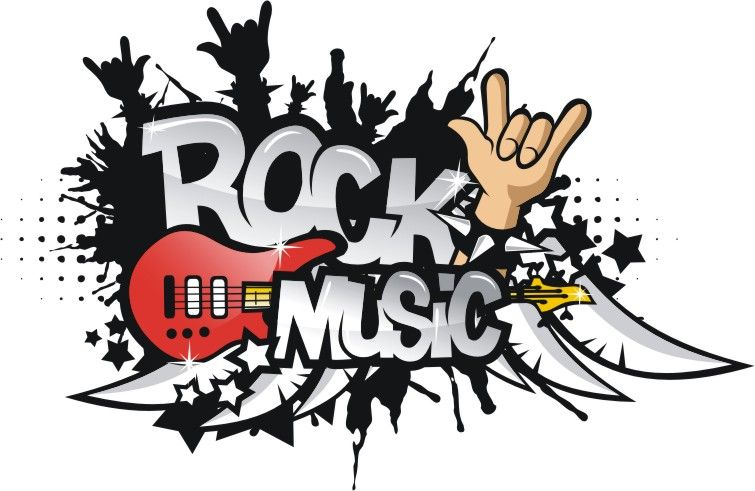 Old Rock music clipart free | Rock Music vector | Corel Draw ...