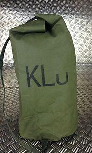 Genuine Dutch Army KL Kitbag   Kit Bag - Duffle   Duffel - Sandbag - Green 6231571fc7bc9