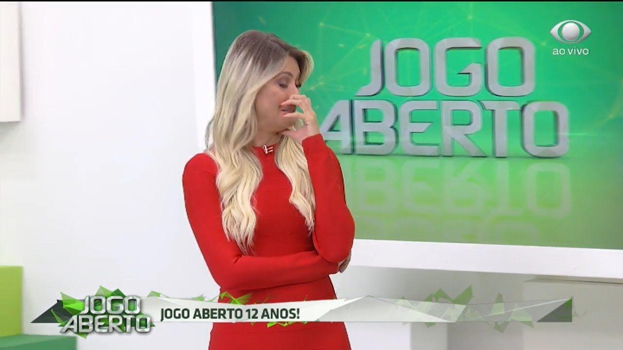 Denilson Elogia Renata E Faz Apresentadora Chorar Jogo Aberto Chorar