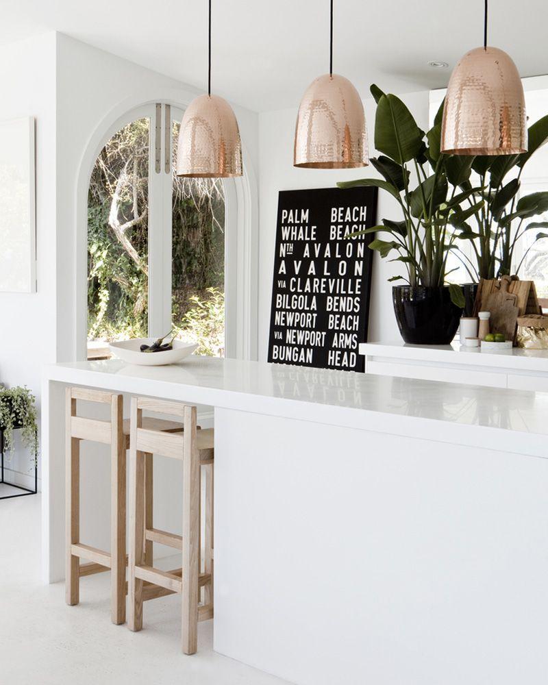 deco cuivre cuisine  Interieur, Bloesem, Woonkamer