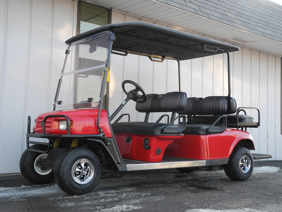 A perfect shuttle vehicle, this 2009 E-Z-GO Workhorse 6-penger ... on ez go workhorse, ez go st sport, ez go freedom, ez go 2007, ez go shuttle 4, ez go clays car, ez go shuttle 2, ez go industrial 800, ez go st 480, ez go shuttle 6, ez go st 400, ez go st custom,