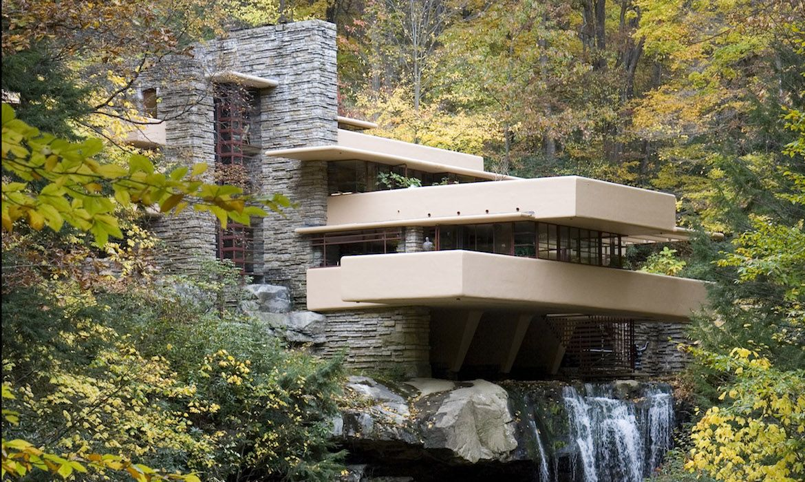 Jessica Stewart Author At My Modern Met Falling Water House Organic Architecture Christmas Light Photography