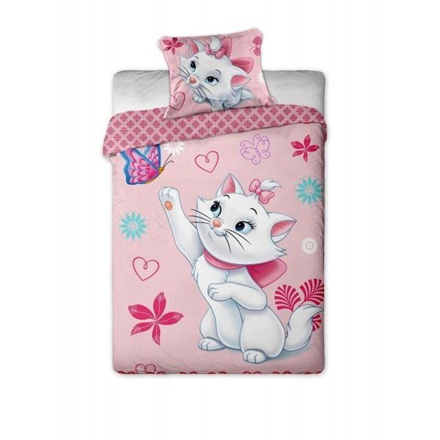 Pin By Tay Shaughnessy On Girls Bedding Sets With Images Marie Cat Single Duvet Cover Pretty Duvet Covers