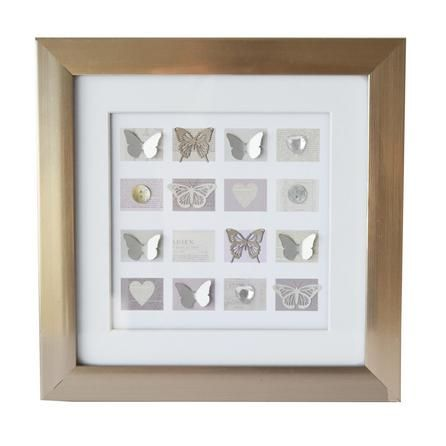 Framed Butterfly and Jewel Wall Art | Dunelm  sc 1 st  Pinterest : dunelm wall art - www.pureclipart.com