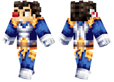 Minecraft Skins Vegeta From Dragon Ball Z Minecraft Skins - Skin para minecraft pe de dragon ball z