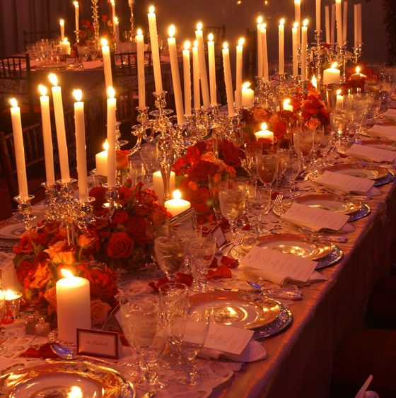 David Tutera Wedding Centerpiece Ideas: David Tutera's Romantic, Opera-themed Wedding Design