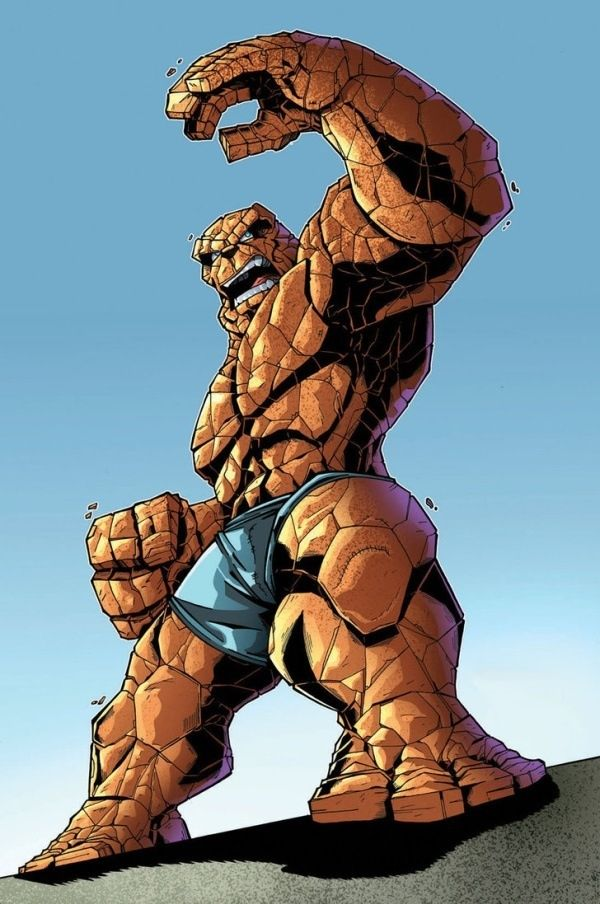 The Thing (Ben Grimm) | Fantastic four marvel, Comic book heroes, Mister  fantastic