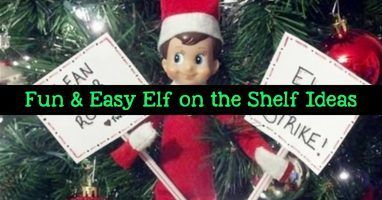 101+ Elf on the Shelf Ideas for Christmas 2019 (crazy elf! such PRANKS!) #elfontheshelfideasfunny Elf on the Shelf Ideas - Funny, hilarious, easy and last minute elf on the shelf ideas for kids #elfontheshelfideasfunnyhilarious