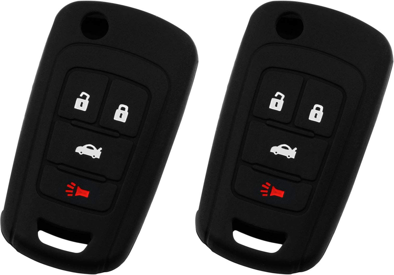 Keyguardz Keyless Entry Remote Car Key Fob Outer Shell Cover Soft Rubber Protective Case For Chevy Buick Gmc Oht01060512 In 2020 Car Key Fob Protective Cases Buick Gmc