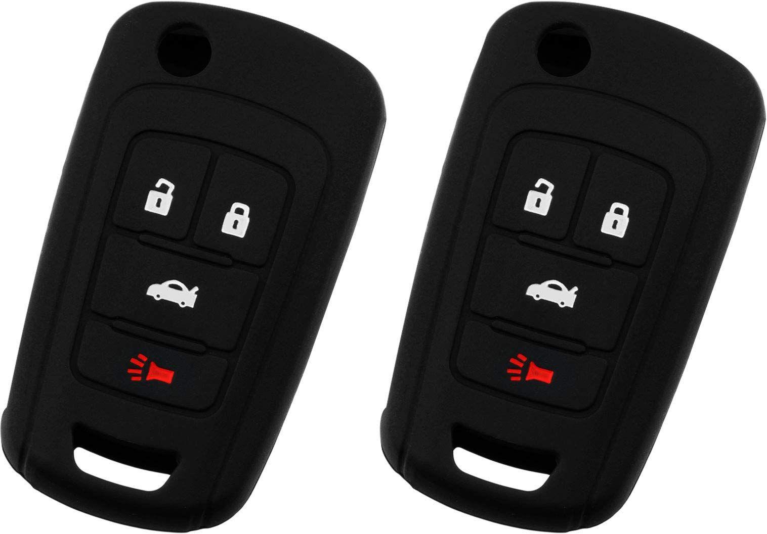 Keyguardz Keyless Entry Remote Car Key Fob Outer Shell Cover Soft
