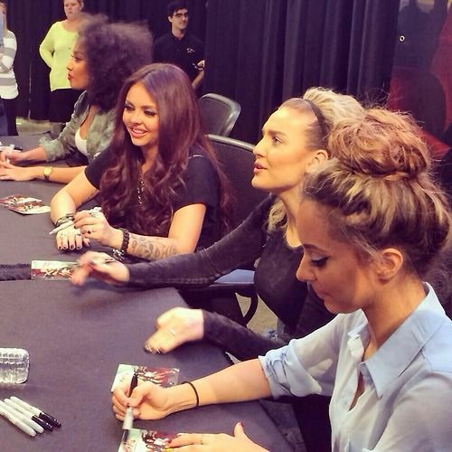Little Mix signing at Mall of America, March 17th
