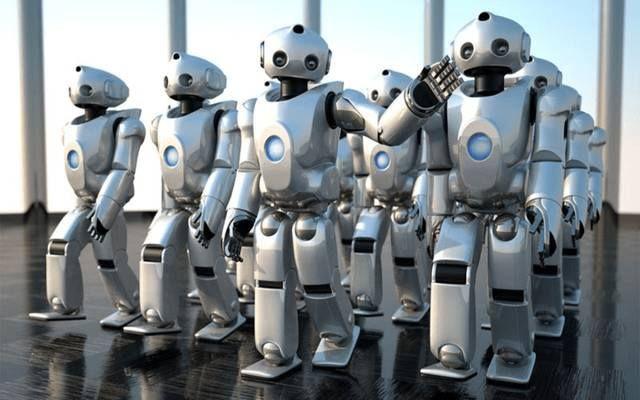 هل يشكل الروبوت مستقبل القطاع المالي حول العالم مباشر كشف تقرير حديث أن الوظائف البشرية بالق Robots Artworks Robot Illustration Military Robot