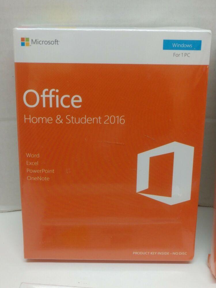 Ebay Sponsored Microsoft Office 2016 Home Student Sealed Retail