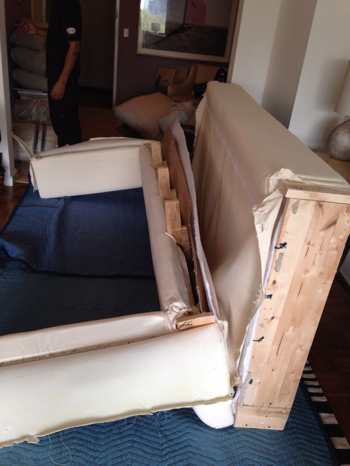 Take Apart A Sofa Furniture Doctor