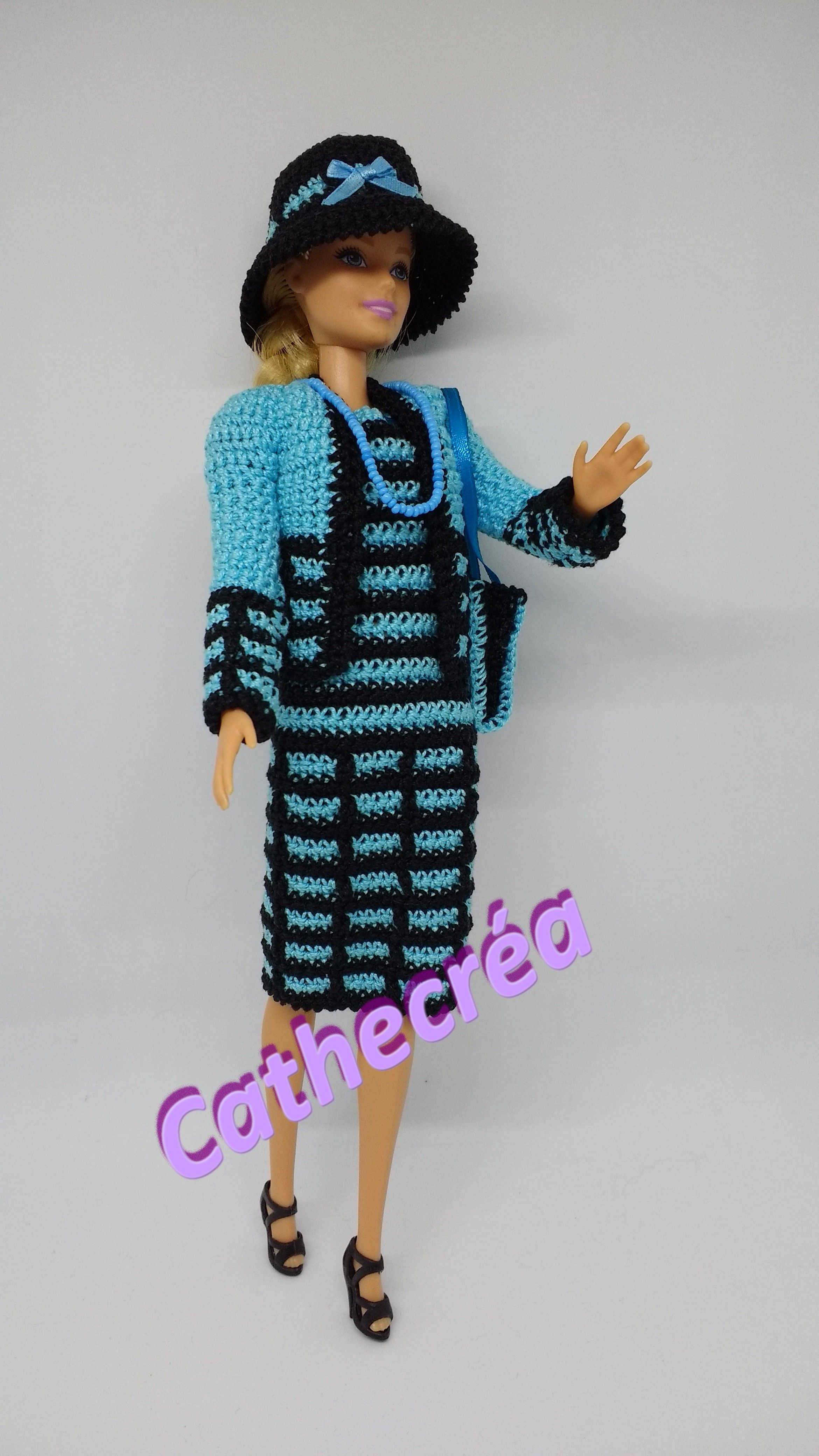 Pin de Crystal Ridenour en barbie crochet | Pinterest | Barbie ...