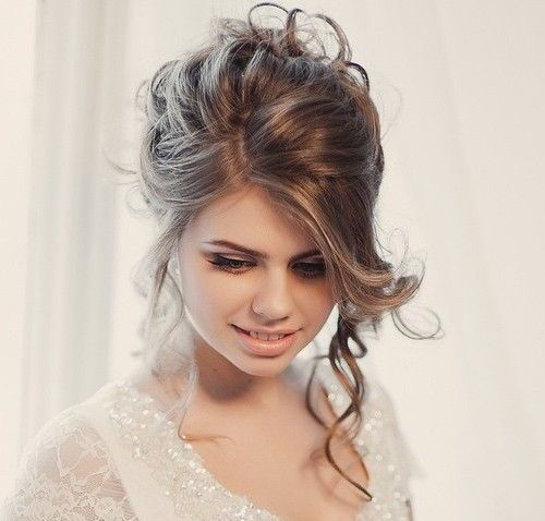 18 Beautiful Wedding Hairstyles Down For Brides And: 40 Chic Wedding Hair Updos For Elegant Brides