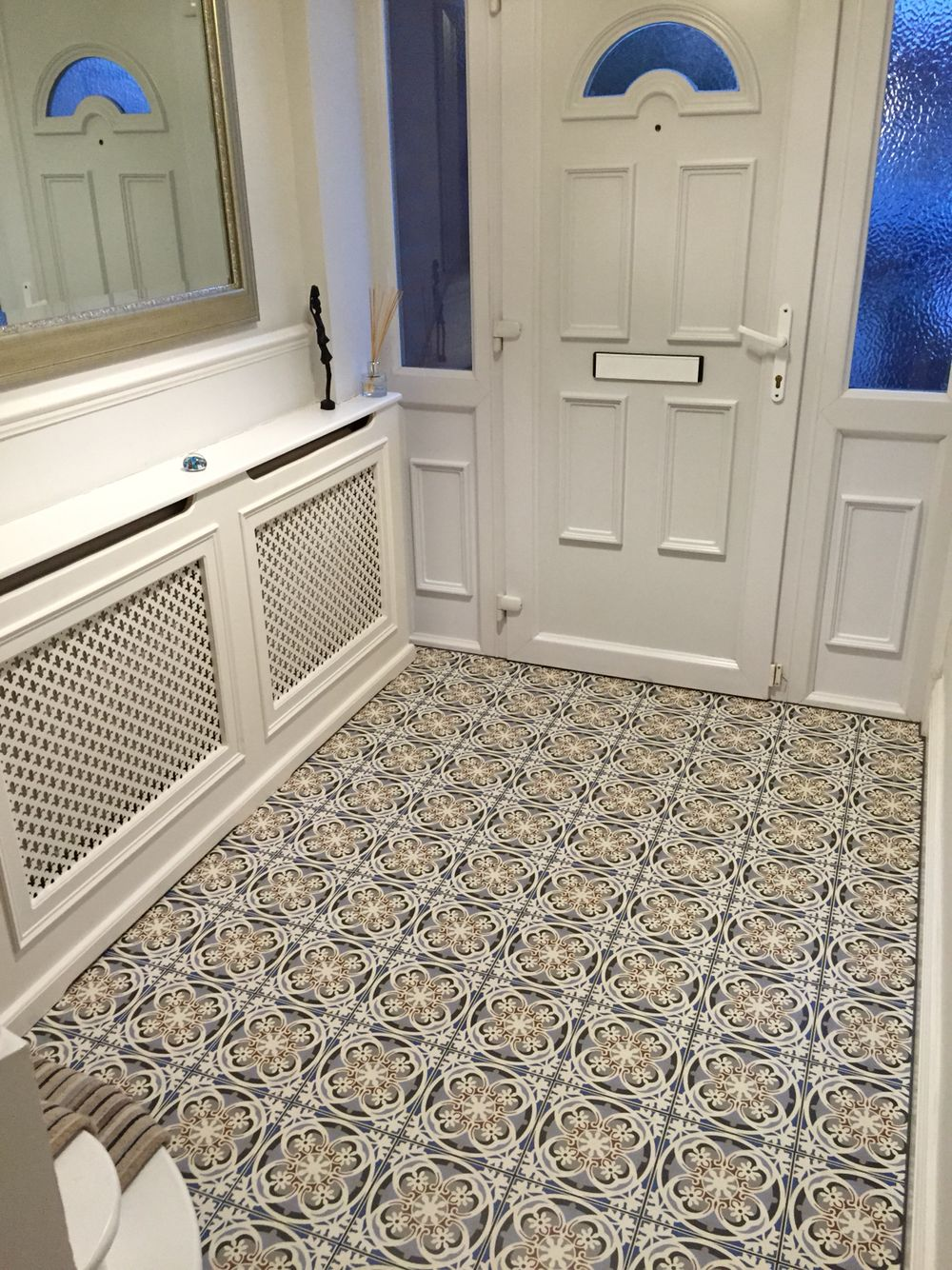 Fired Earth Abbey Fountains Tiles In Entrance Hallway My