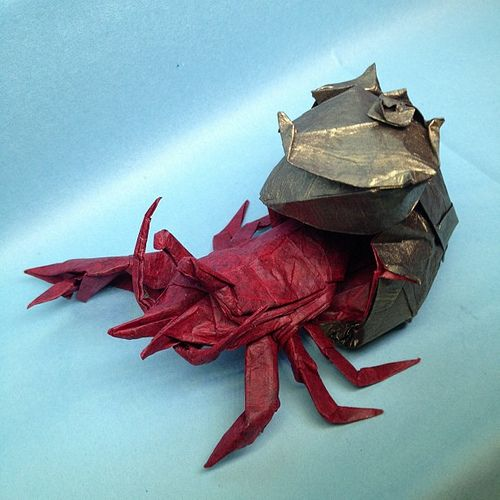 origami hermit crab - Google Search