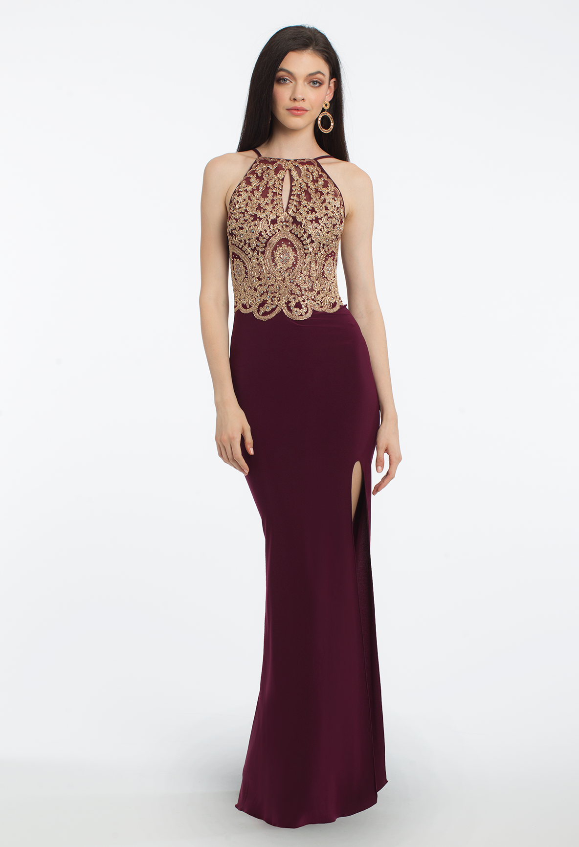 This posh evening gown is flawless for any formal event! With its ...