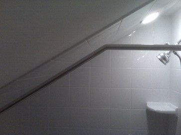 Sloping Ceiling Shower Curtain Rod Google Search Shower Rod