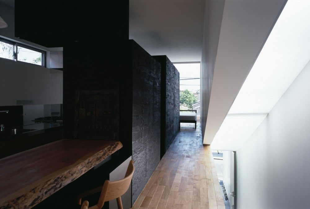 m house dig architects modern interieur smal huis residentile architectuur interieurarchitectuur