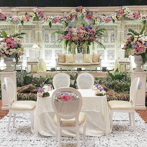 Rangkaian Dekorasi Pernikahan At Ladyledysta At Iqbalimanuddin