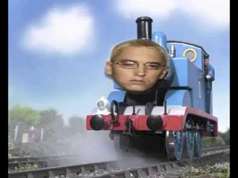Eminem Vs Thomas The Tank Engine The Real Shady Train Youtube Thomas Meme Thomas And Friends Thomas The Tank Engine