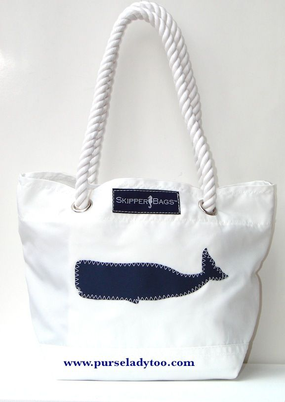 Smaller Skipper Bag Now In Stock Rope Handles With Nautical Themes Www Purseladytoo
