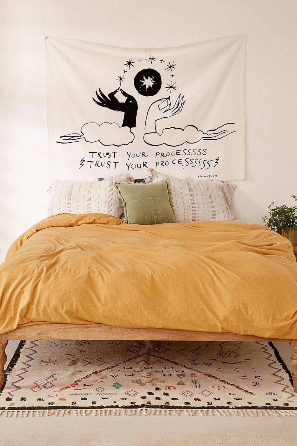 Incredible Yellow Aesthetic Bedroom Decorating Ideas 24 Room Inspiration Aesthetic Bedroom Bedroom Design Inspiration yellow aesthetic bedroom