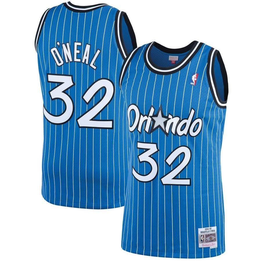 889000a0e0a Youth Orlando Magic Shaquille O Neal Mitchell   Ness Blue 1994-95 Hardwood  Classics Swingman Jersey