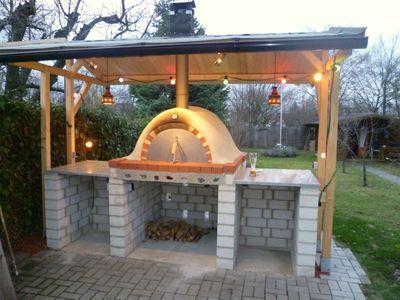 Pizzaofen Bauanleitung Pizza Ofen Pinterest Oven Backyard And