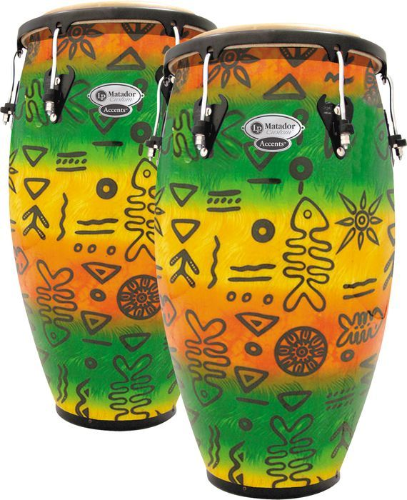 Click Image Above To Purchase: Lp Matador Custom Accent Conga Set