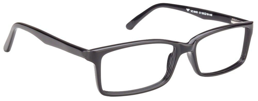 4143f3d67a Vincent Chase VC 6443 Black C1 Eyeglasses at Best Prices- LensKart.com    Rs.1299