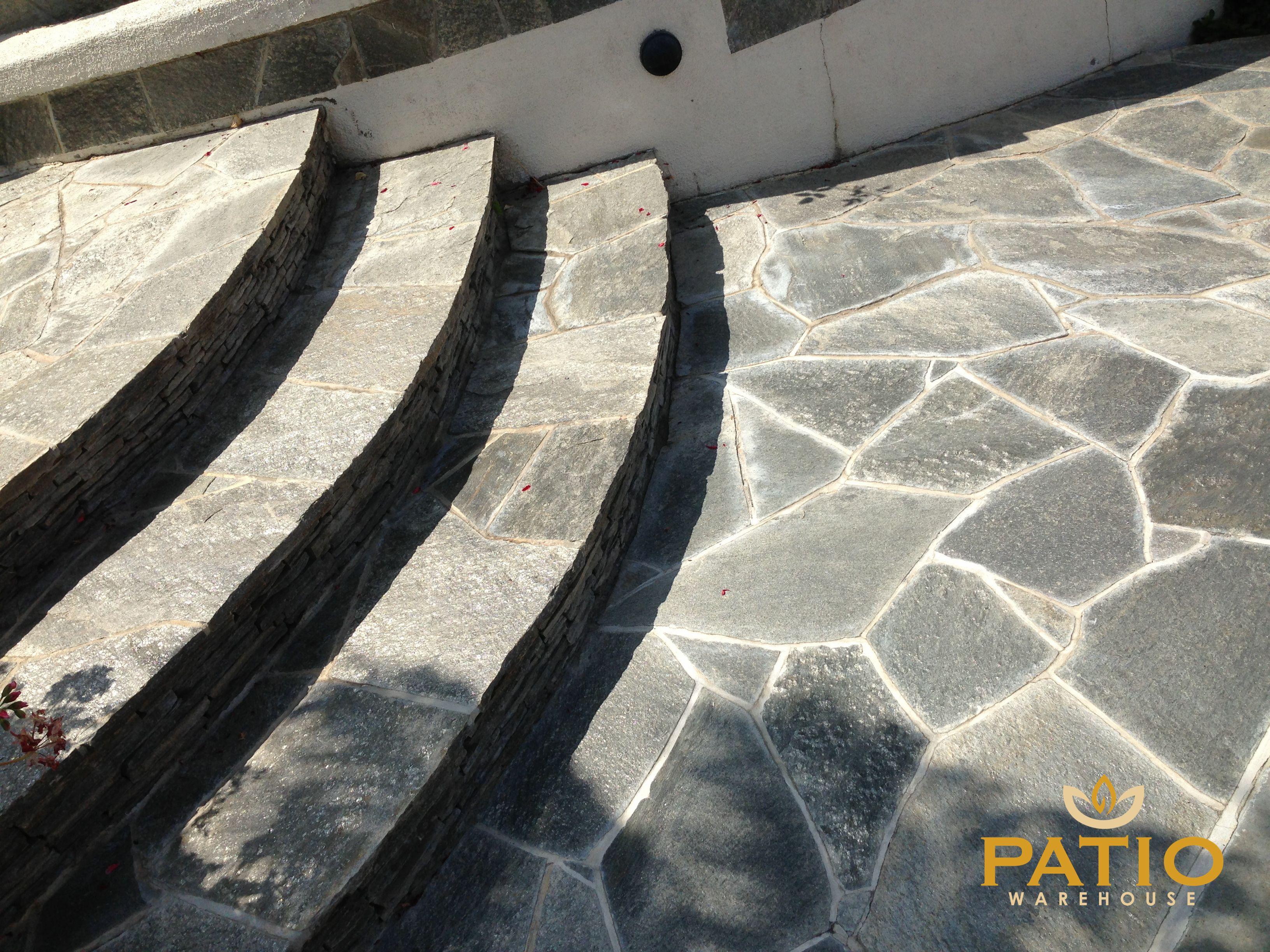 Flagstone Patio, Warehouses