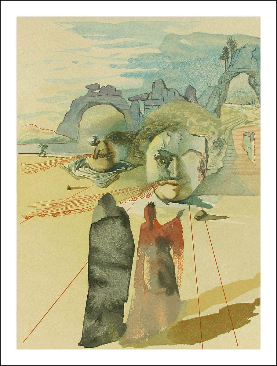 Dali, Divine Comedy, Inferno   Illustrations & Concept`Art ...