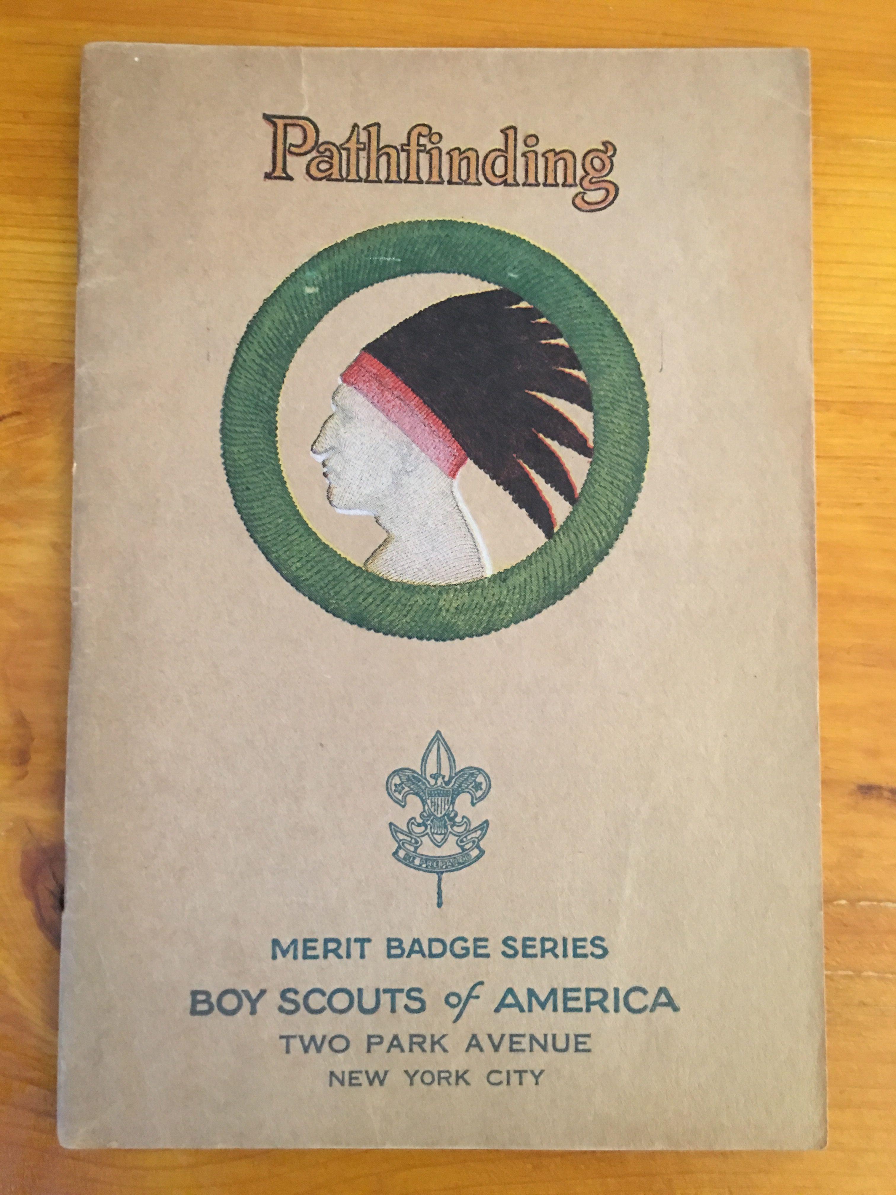 Pathfinding Merit Badge Book