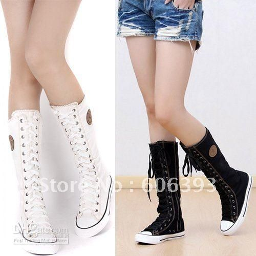 Wholesale Boots Ladies - Buy Lady Girl's Canvas Boots Fashion ...