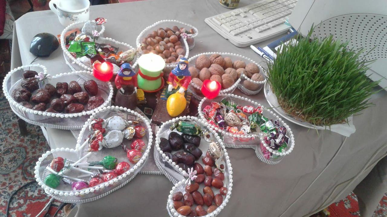Novruz Bayrami Xoncasi Buta 7 ədəd Table Decorations Decor Home Decor