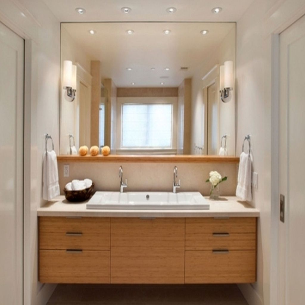 15+ Charm Gorgeous Bathroom Lighting Ideas That Will Make Your ...