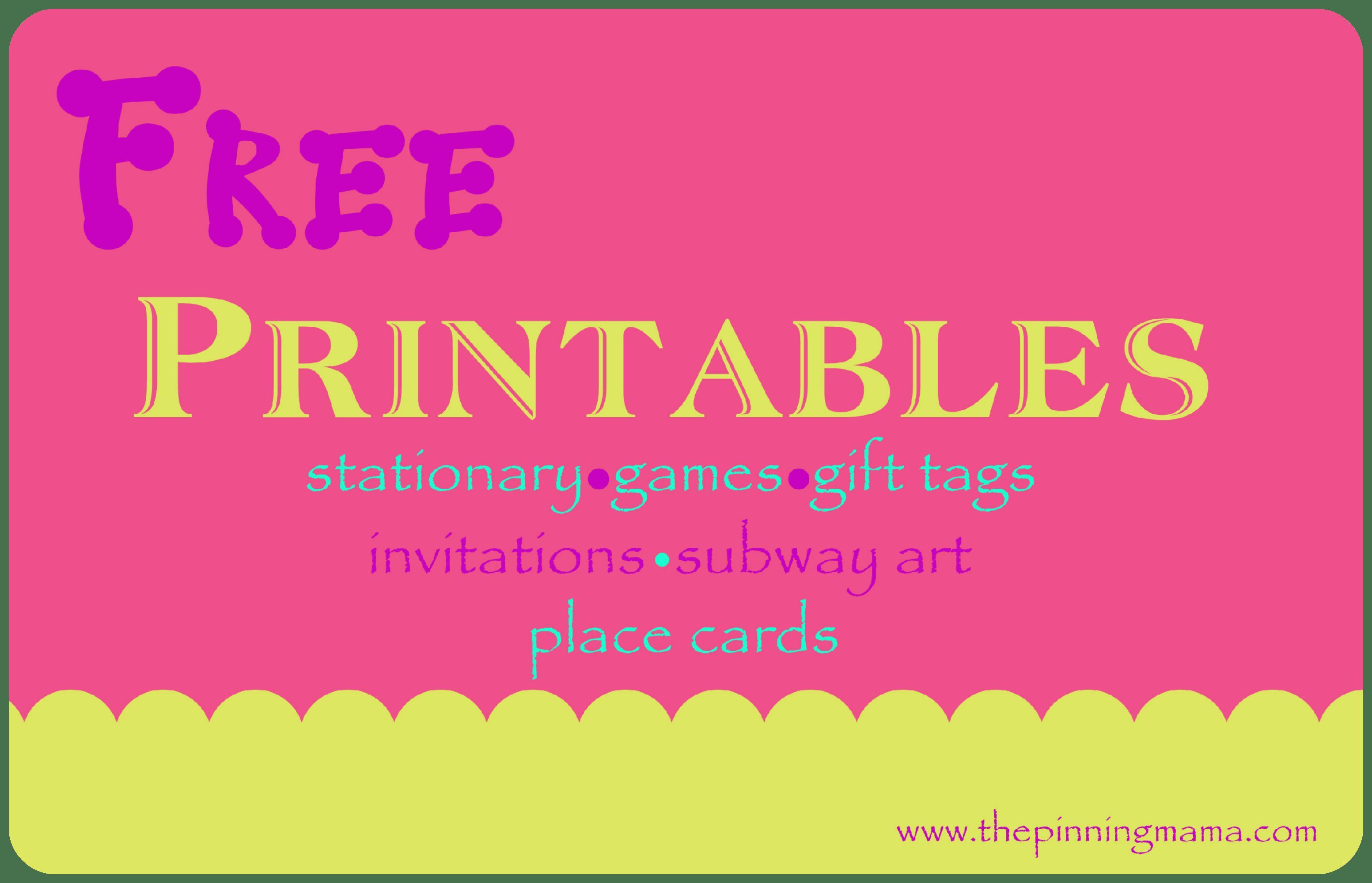 Free Printable Birthday Party Invitations Planning A Birthday Party Can