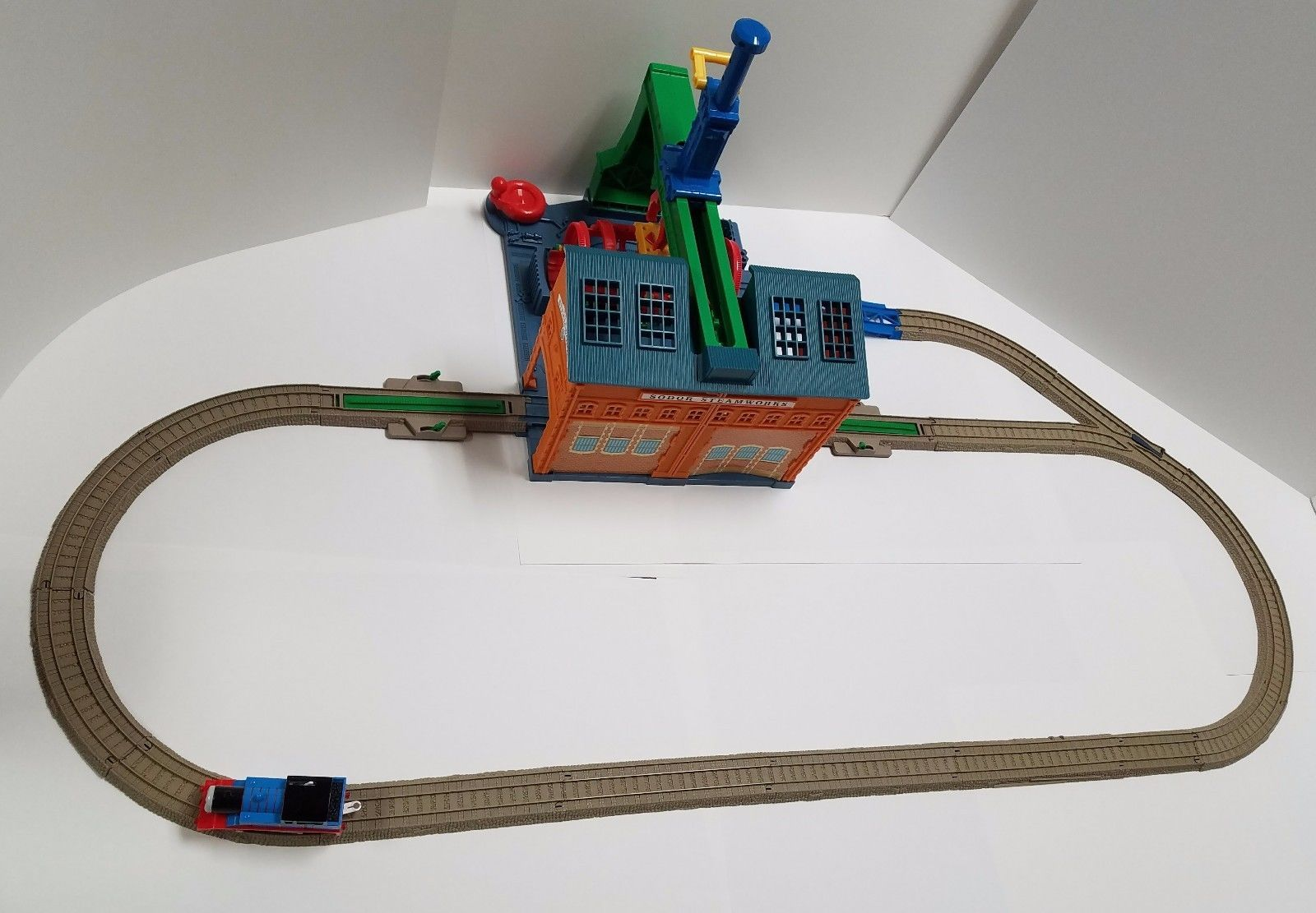 SODOR STEAMWORKS SPIN & FIX THOMAS & FRIENDS Train Set