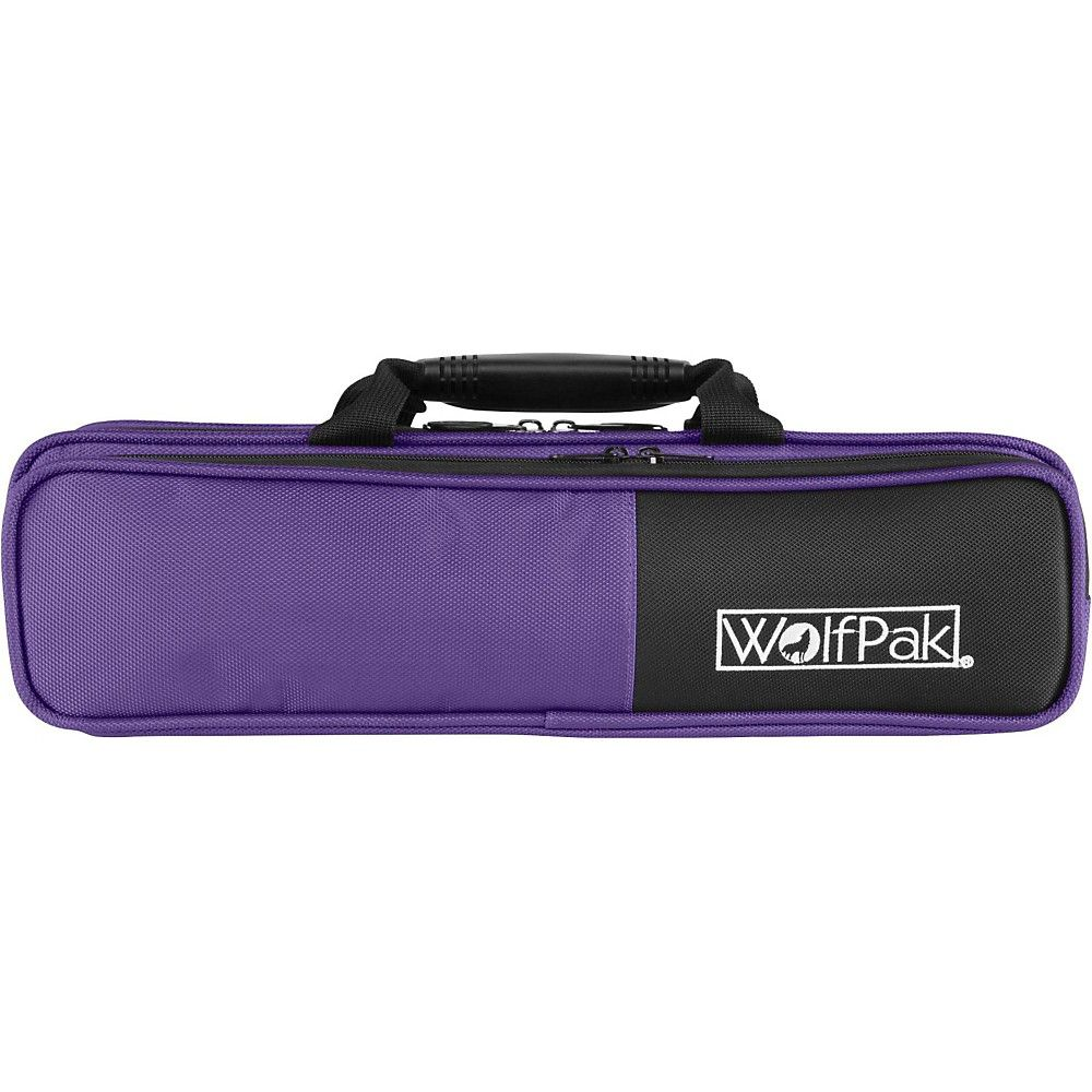 e656c5f9953 WolfPak Colors Series Lightweight Polyfoam Flute Case Purple ...