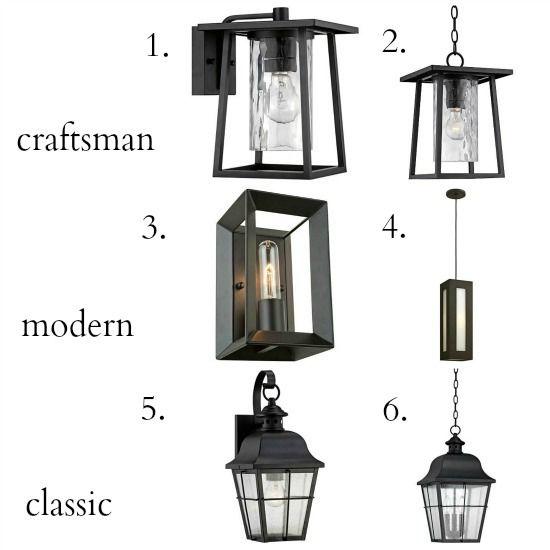 craftsman style outdoor lighting patio lantern outdoor lighting styles pinterest