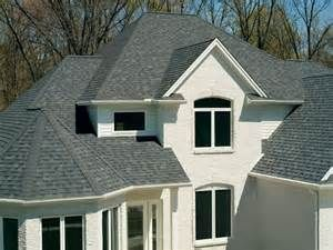 Best Owens Corning Oakridge Estate Gray Shingles On A House 400 x 300