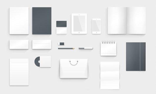 Corporate Identity Photoshop Mock Up Fribly Corporate Identity Mockup Corporate Identity Corporate Identity Design